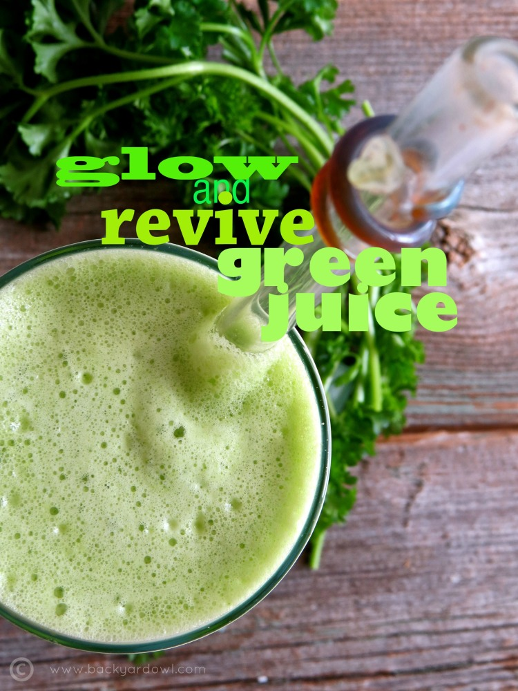 glow and revive green juice