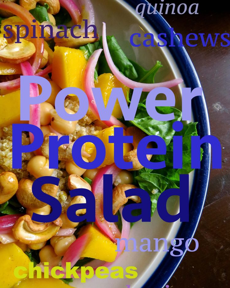 power protein salad
