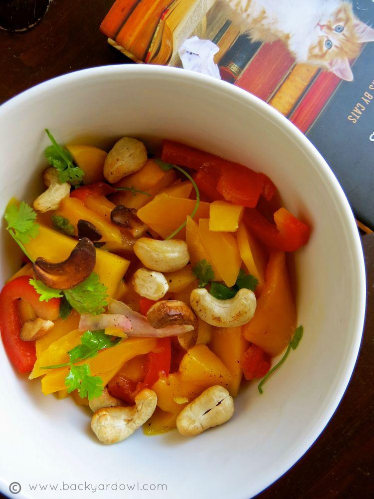easy fresh mango salad